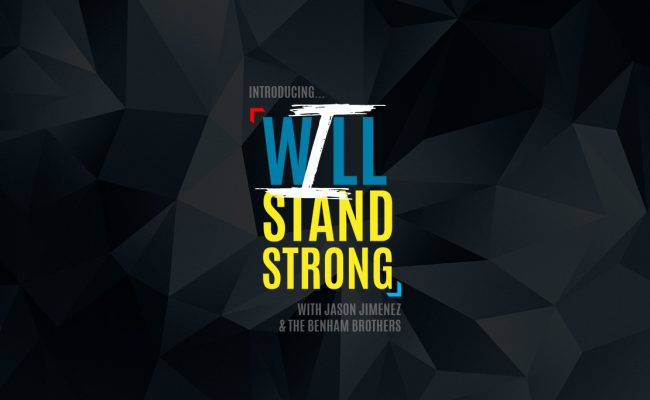 i will stand banner